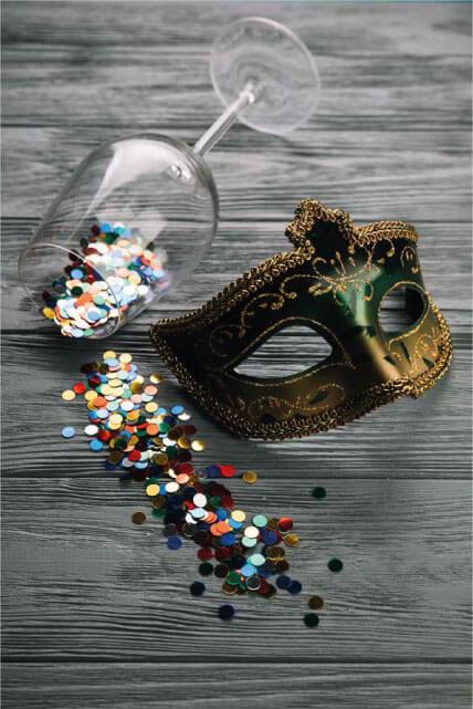 maske mit glas - Veranstaltungen
