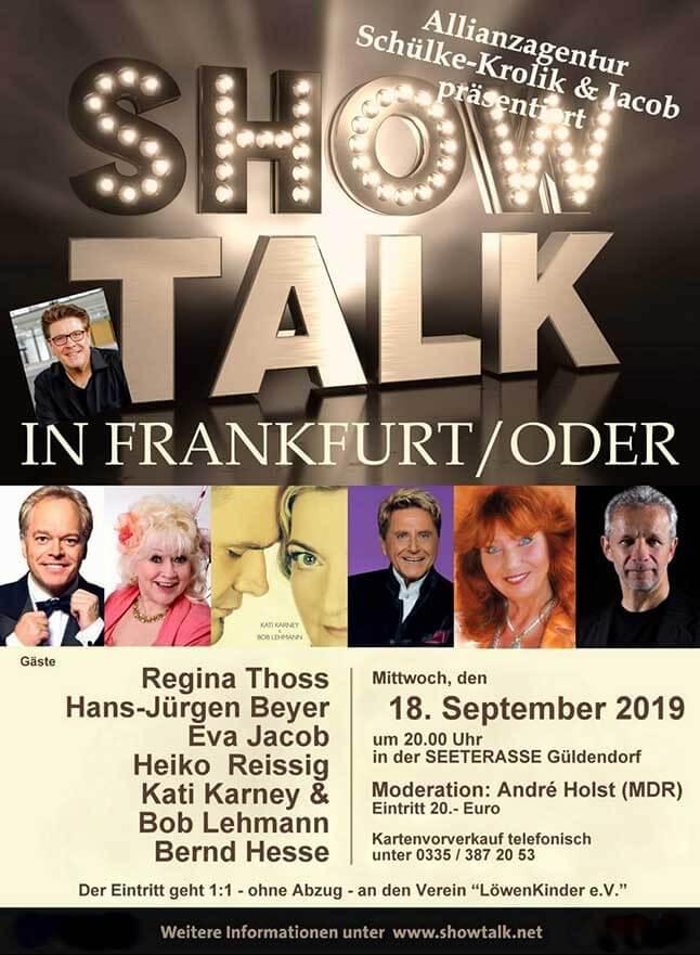 show talk - Willkommen